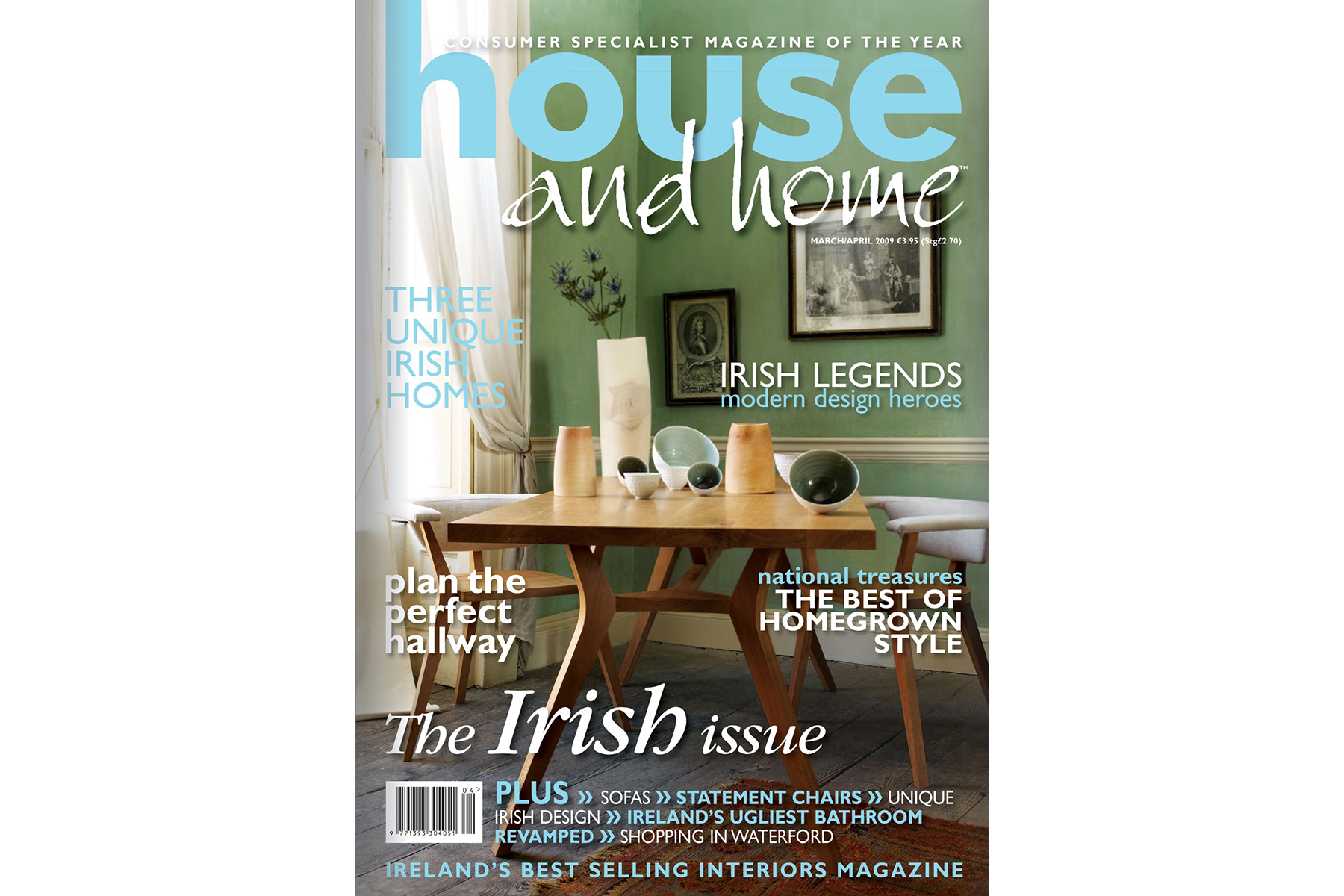 House And Home Cover Design